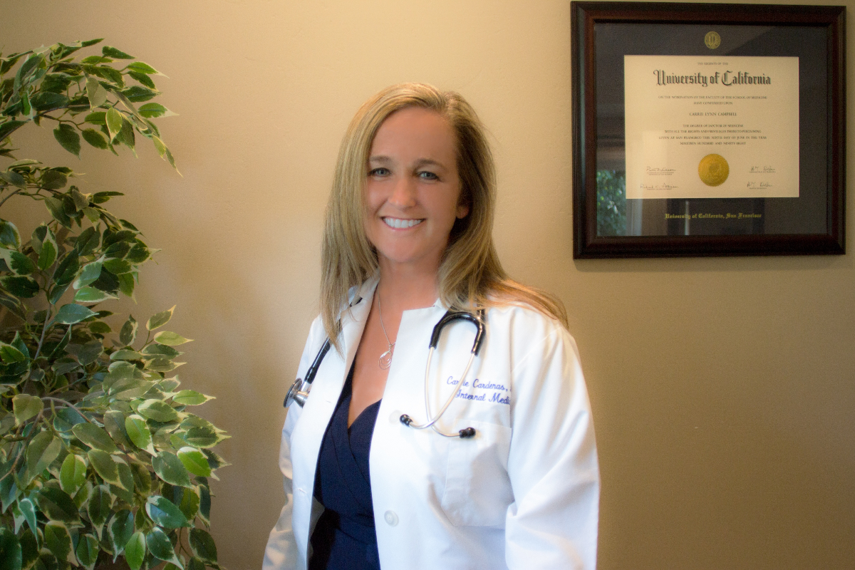 Contact Dr. Carrie Cardenas, MD